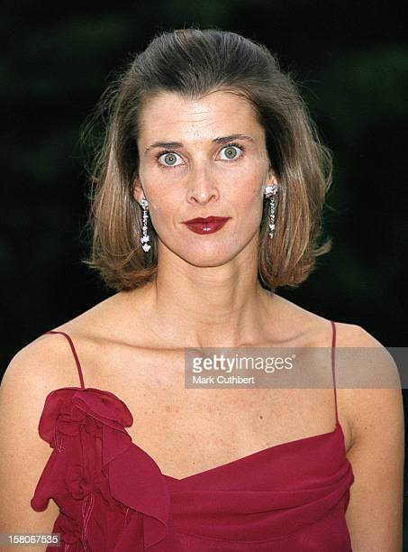 Princess Rosario Of Bulgaria Attends A Gala Dinner At London'S Syon House To Celebrate The Christening Of Crown Prince Pavlos Crown Princess Marie...