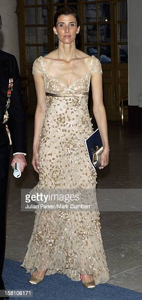 Princess Rosario Of Bulgaria Attends King Carl Gustaf Of Sweden'S 60Th Birthday CelebrationsGala Dinner At The Royal Palace Stockholm