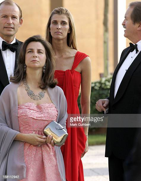 Princess Rosario Of Bulgaria Attends The Silver Wedding Anniversary Celebrations Of Grand Duke Henri Grand Duchess MariaTheresa Of...