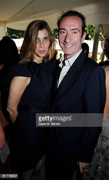 Princess Rosario of Bulgaria with Robert Hanson attend the dinner in honour of Nelson Mandela celebrating his 90th birthday at Hyde Park on June 25...