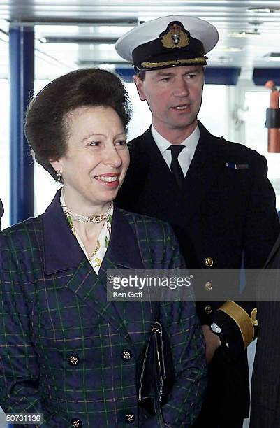 Princess Royal Anne husband Cmdr Tim Laurence