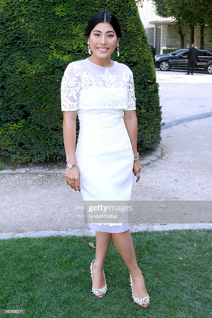 Princess Sirivannavari Nariratana arriving at the Christian Dior show as part of the Paris Fashion Week Womenswear Spring/Summer 2014, held at Musee Rodin on September 27, 2013 in Paris, France.