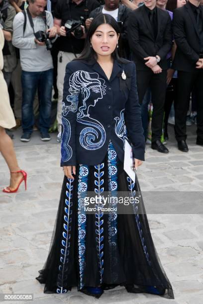 Princess Sirivannavari Nariratana attends the Christian Dior Haute Couture Fall/Winter 20172018 show as part of Paris Fashion Week on July 3 2017 in...