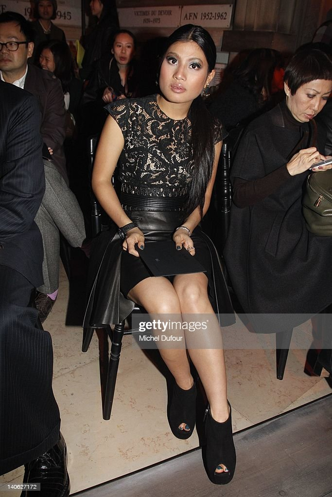 Princess Sirivannavari Nariratana attends the Loewe Ready-To-Wear Fall/Winter 2012 show as part of Paris Fashion Week at Universite Paris Descartes on March 3, 2012 in Paris, France.