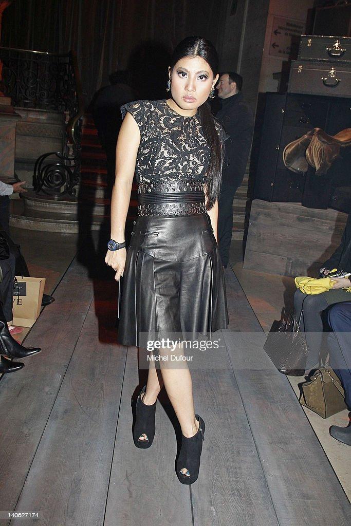 Princess Sirivannavari Nariratana attends the Loewe Ready-To-Wear Fall/Winter 2012 show as part of Paris Fashion Week at Universite Paris Descartes on March 3, 2012 in Paris, France.