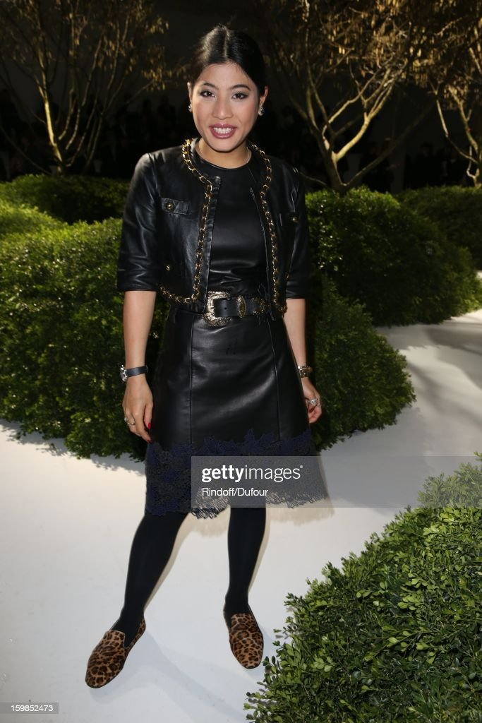 Princess Sirivannavari Nariratana of Thailand attends the Christian Dior Spring/Summer 2013 Haute-Couture show as part of Paris Fashion Week at on January 21, 2013 in Paris, France.