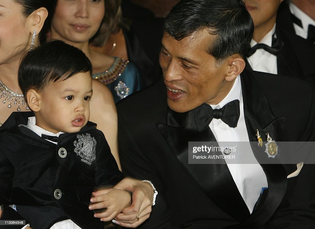 Princess Sirivannavari Nariratana Of Thailand Fashion Collection In Paris, France On September 29, 2007 - Crown prince of Thailand <a gi-track='captionPersonalityLinkClicked' href=/galleries/search?phrase=Maha+Vajiralongkorn&family=editorial&specificpeople=584948 ng-click='$event.stopPropagation()'>Maha Vajiralongkorn</a> (Princess Sirivannavari's father) , HRH princess Srirasmi and their son Prince Dipangkorn Rasmijoti attended Princess Sirivannavari's fashion show - HRH Princess Sirivannavari Nariratana of Thailand, the grand-daughter of Queen <a gi-track='captionPersonalityLinkClicked' href=/galleries/search?phrase=Sirikit&family=editorial&specificpeople=228360 ng-click='$event.stopPropagation()'>Sirikit</a> of Thailand, has been sponsored by the Haute Couture Maison Balmain to present her new collection at the Paris fashion week - The collection, called 'Presence of the past' will be shown to open the fashion week at the Opera Garnier - It is a mixture of thai culture and modernism - Princess Sirivannavari Nariratana claims she has been inspired by her grand-mother HH Queen <a gi-track='captionPersonalityLinkClicked' href=/galleries/search?phrase=Sirikit&family=editorial&specificpeople=228360 ng-click='$event.stopPropagation()'>Sirikit</a> of Thailand, who used to wear Pierre Balmain creations.