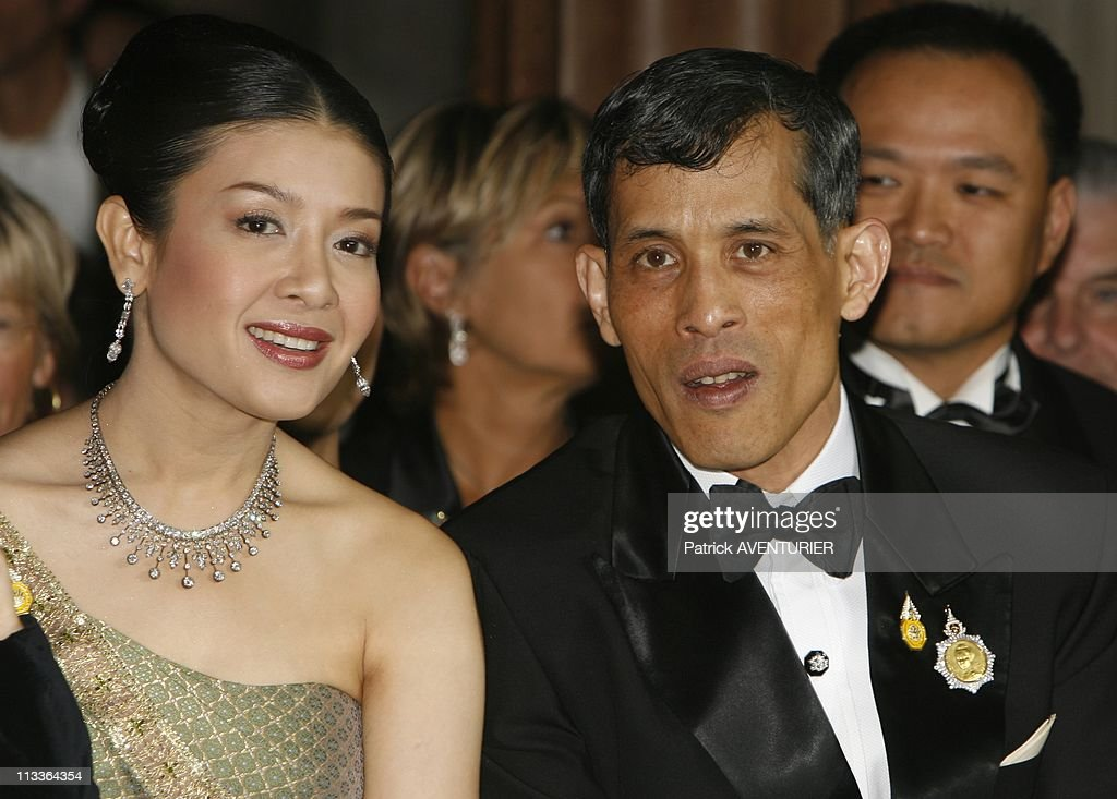 Princess Sirivannavari Nariratana Of Thailand Fashion Collection In Paris, France On September 29, 2007 - Crown prince of Thailand <a gi-track='captionPersonalityLinkClicked' href=/galleries/search?phrase=Maha+Vajiralongkorn&family=editorial&specificpeople=584948 ng-click='$event.stopPropagation()'>Maha Vajiralongkorn</a> (Princess Sirivannavari's father) , HRH princess Srirasmi attended Princess Sirivannavari's fashion show - HRH Princess Sirivannavari Nariratana of Thailand, the grand-daughter of Queen <a gi-track='captionPersonalityLinkClicked' href=/galleries/search?phrase=Sirikit&family=editorial&specificpeople=228360 ng-click='$event.stopPropagation()'>Sirikit</a> of Thailand, has been sponsored by the Haute Couture Maison Balmain to present her new collection at the Paris fashion week - The collection, called 'Presence of the past' will be shown to open the fashion week at the Opera Garnier - It is a mixture of thai culture and modernism - Princess Sirivannavari Nariratana claims she has been inspired by her grand-mother HH Queen <a gi-track='captionPersonalityLinkClicked' href=/galleries/search?phrase=Sirikit&family=editorial&specificpeople=228360 ng-click='$event.stopPropagation()'>Sirikit</a> of Thailand, who used to wear Pierre Balmain creations.