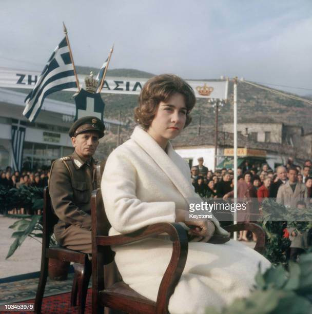 Princess Sofia of Greece in 1961