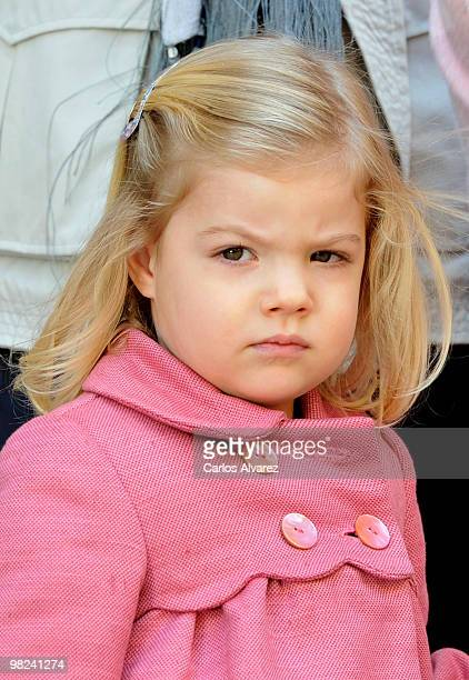 Princess Sofia of Spain attends Easter Mass at Palma de Mallorca Cathedral on April 4 2010 in Palma de Mallorca Spain