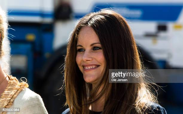 Princess Sofia of Sweden as seen during her participation in the the Granslosa Moten's Sustainability and Future Seminar 'A Sustainable Tomorrow' on...