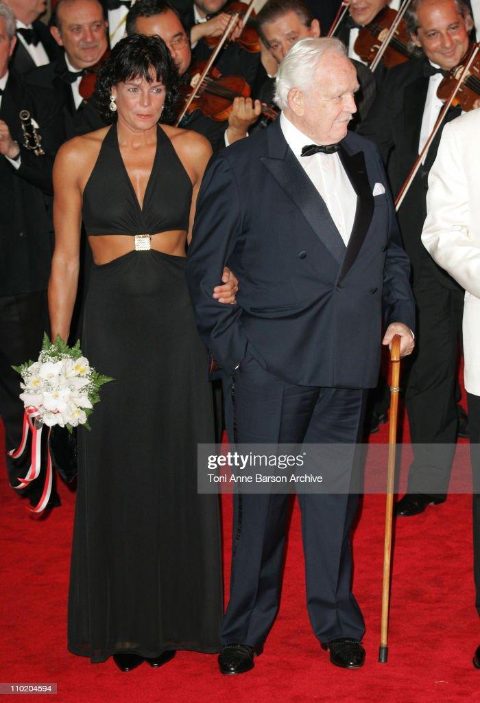 Princess Stephanie and HSH Prince Rainier of Monaco