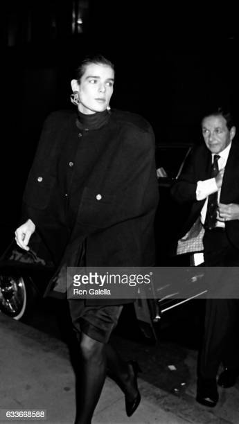Princess Stephanie Monaco sighted on October 28 1985 at the Regency Hotel in New York City