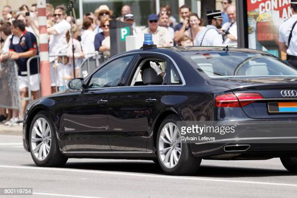 Princess Stephanie of Luxembourg attend National Day parade on June 23 2017 in Luxembourg Luxembourg