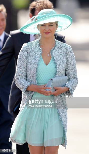 Princess Stephanie of Luxembourg attends the Sovereign's Parade at the Royal Military Academy Sandhurst on August 11 2017 in Camberley England The...