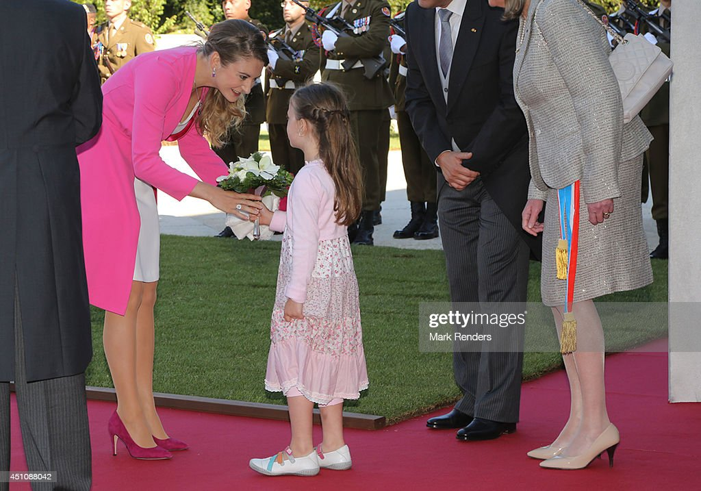 Princess Stephanie of Luxembourg celebrates National Day at the Theatre on June 23, 2014 in Luxembourg, Luxembourg.