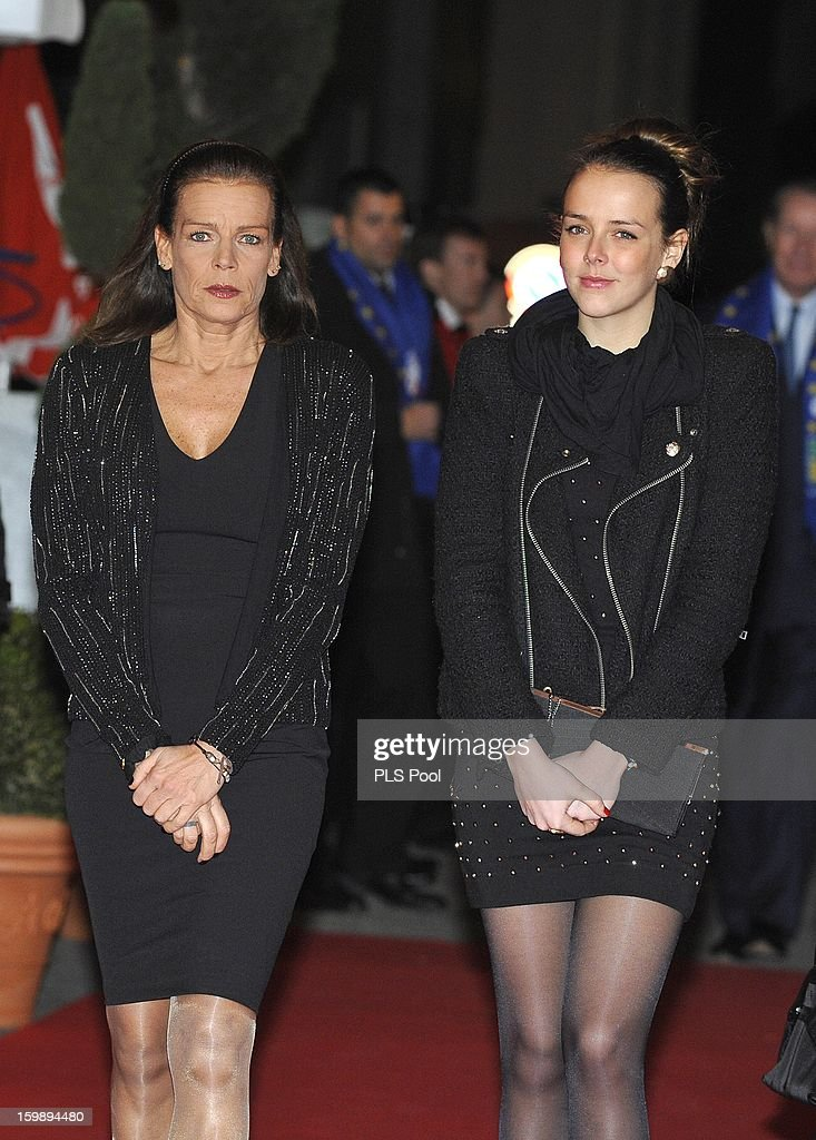 Princess Stephanie of Monaco and daughter Pauline Ducruet attend the closing ceremony of the Monte-Carlo 37th International Circus Festival on January 22, 2013 in Monte-Carlo, Monaco.