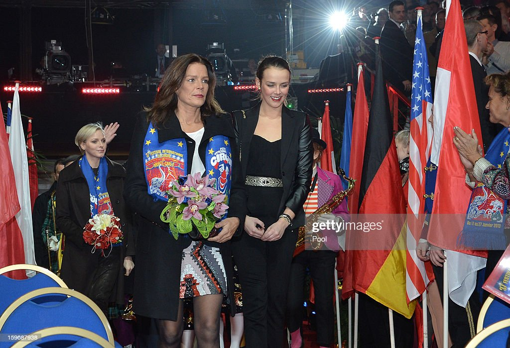 <a gi-track='captionPersonalityLinkClicked' href=/galleries/search?phrase=Princess+Stephanie+of+Monaco&family=editorial&specificpeople=171100 ng-click='$event.stopPropagation()'>Princess Stephanie of Monaco</a> and her daughter <a gi-track='captionPersonalityLinkClicked' href=/galleries/search?phrase=Pauline+Ducruet&family=editorial&specificpeople=2084053 ng-click='$event.stopPropagation()'>Pauline Ducruet</a> attend the opening of the Monte-Carlo 37th International Circus Festival on January 17, 2013 in Monte-Carlo, Monaco.