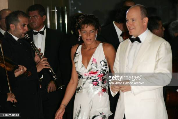 Princess Stephanie of Monaco and HSH Prince Albert II of Monaco