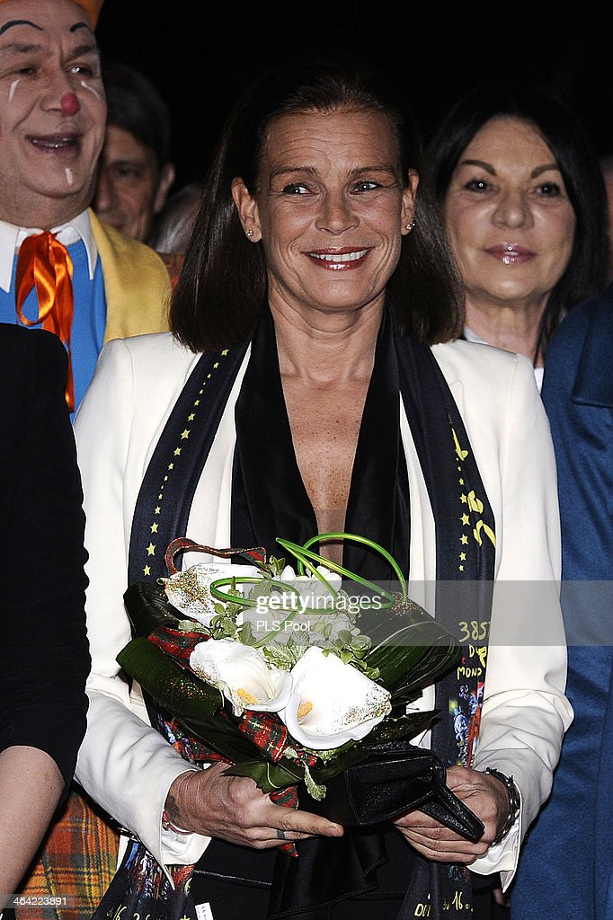 <a gi-track='captionPersonalityLinkClicked' href=/galleries/search?phrase=Princess+Stephanie+of+Monaco&family=editorial&specificpeople=171100 ng-click='$event.stopPropagation()'>Princess Stephanie of Monaco</a> attends the 38th International Circus Festival on January 21, 2014 in Monte-Carlo, Monaco.