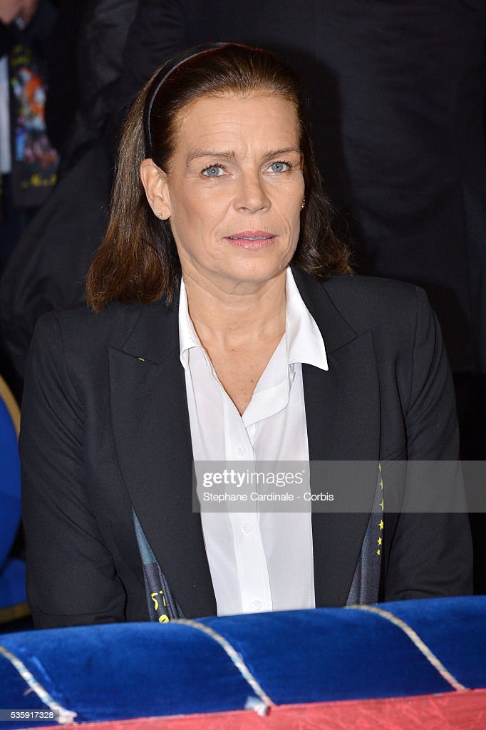 Princess Stephanie of Monaco attends the 38th International Circus Festival, in Monaco.