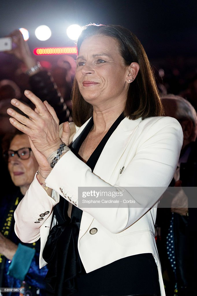 Princess Stephanie of Monaco attends the 38th International Circus Festival on January 21, 2014 in Monte-Carlo, Monaco.
