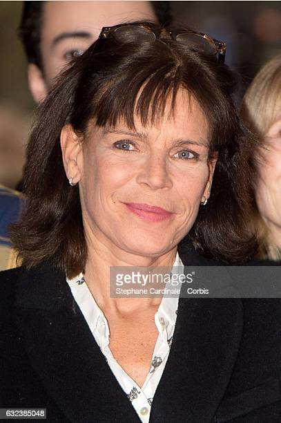 Princess Stephanie of Monaco attends the 41st MonteCarlo International Circus Festival on January 22 2017 in Monaco Monaco