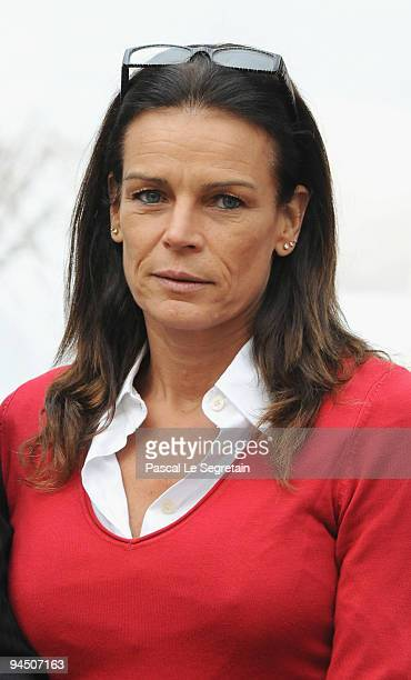 Princess Stephanie of Monaco attends the Christmas Tree party at Monaco Palace on December 16 2009 in Monaco Monaco