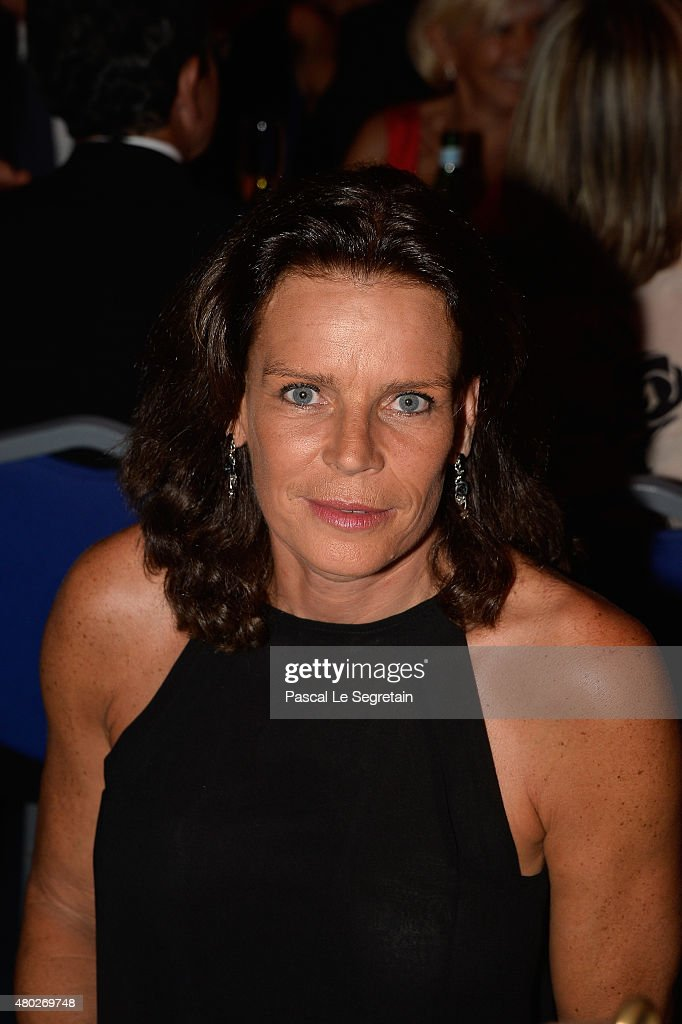 <a gi-track='captionPersonalityLinkClicked' href=/galleries/search?phrase=Princess+Stephanie+of+Monaco&family=editorial&specificpeople=171100 ng-click='$event.stopPropagation()'>Princess Stephanie of Monaco</a> attends the Fight Aids Charity Gala In Monte-Carlo on July 10, 2015 in Monaco, Monaco.
