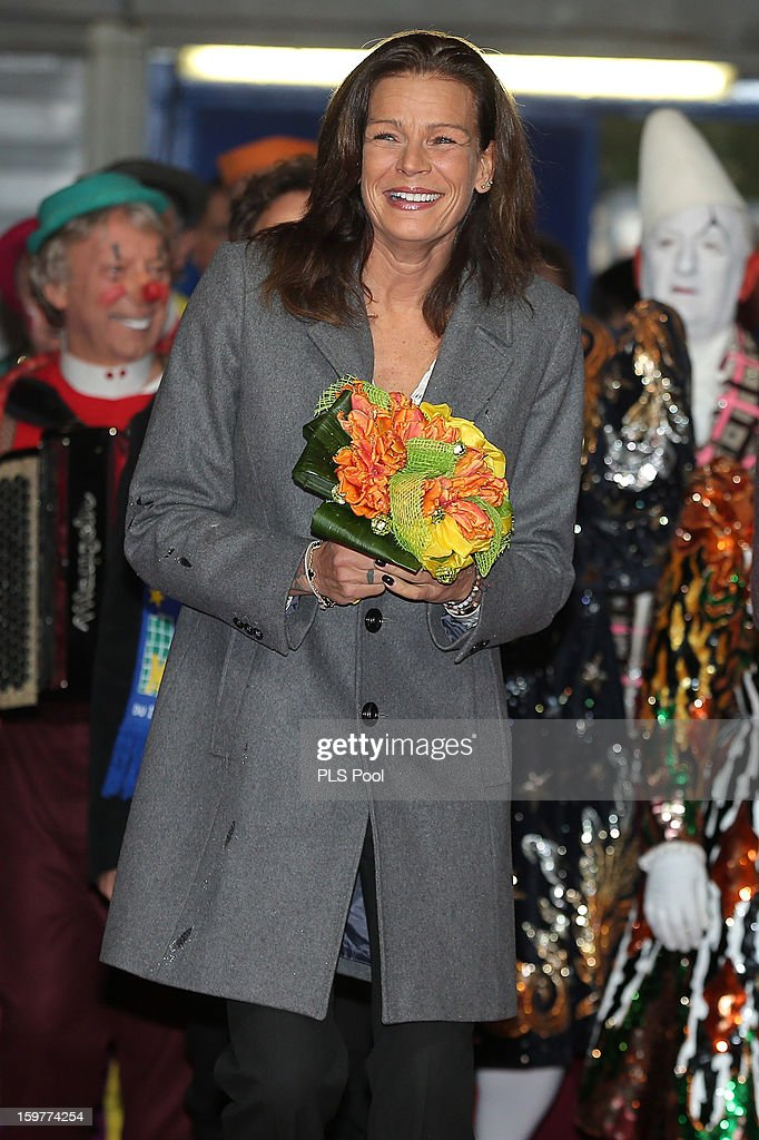 Princess Stephanie of Monaco attends the MonteCarlo 37th International Circus Festival on January 20 2013 in MonteCarlo Monaco