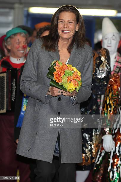 Princess Stephanie of Monaco attends the MonteCarlo 37th International Circus Festival on January 20 2013 in MonteCarlo Monaco