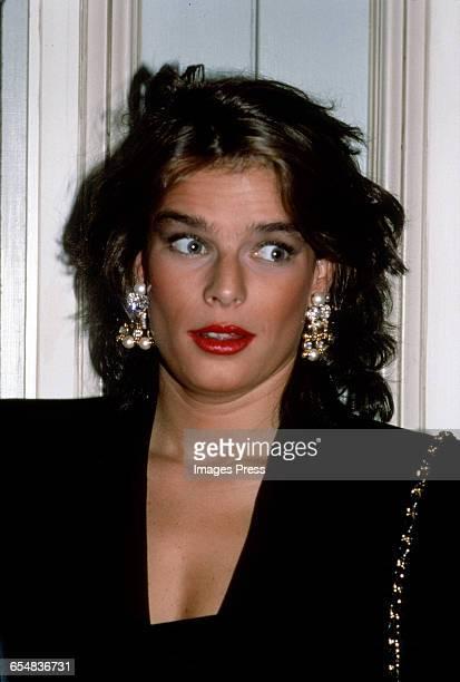 Princess Stephanie of Monaco circa 1989 in New York City