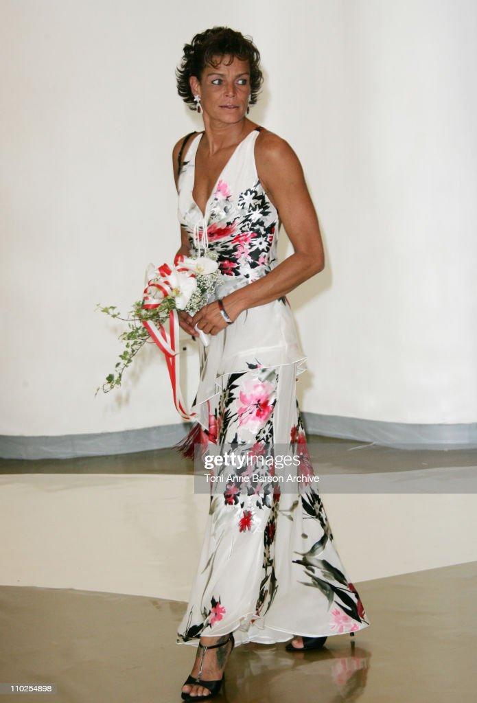 Princess Stephanie of Monaco during 2005 Monaco Red Cross Ball Arrivals at Monte Carlo Sporting Club in Monte Carlo Monaco