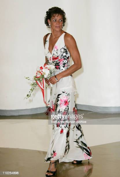 Princess Stephanie of Monaco during 2005 Monaco Red Cross Ball Arrivals at Monte Carlo Sporting Club in Monte Carlo Monaco