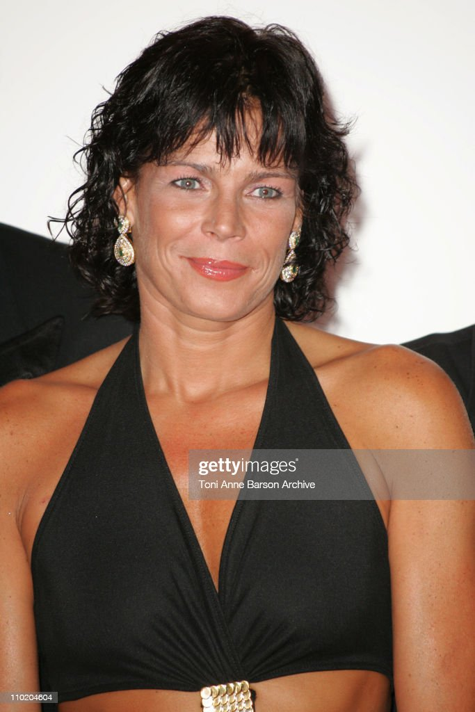 Princess Stephanie of Monaco during Monaco Red Cross Ball 2004 Arrivals at Monte Carlo Sporting Club in MonteCarlo