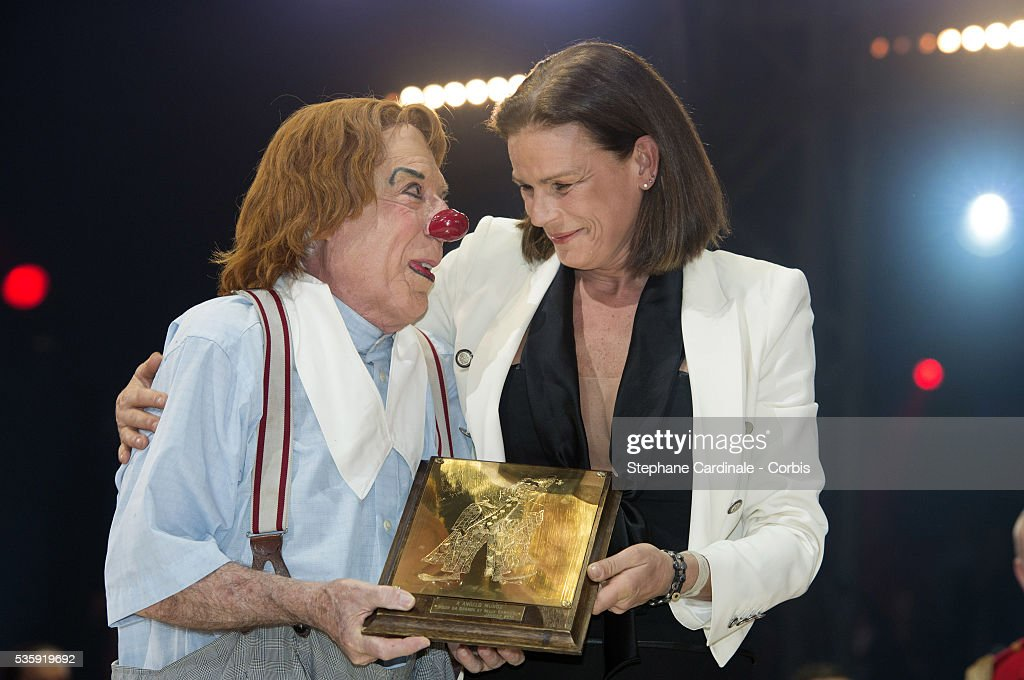 Princess Stephanie of Monaco during the Prize Ceremony of the 38th International Circus Festival on January 21, 2014 in Monte-Carlo, Monaco.