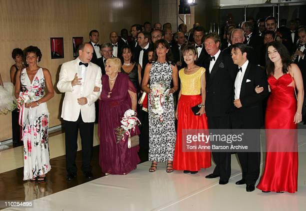 Princess Stephanie of Monaco HSH Prince Albert II of Monaco Princess Antoinette Princess Caroline of Hanover and ErnstAugust of Hanover