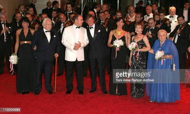 Princess Stephanie of Monaco HSH Prince Rainier HSH Prince Albert of Monaco Prince of Hanover Princess Caroline of Monaco and Princess Antoinette