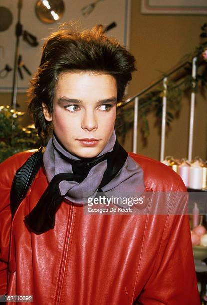 Princess Stephanie of Monaco in London on November 27 1984