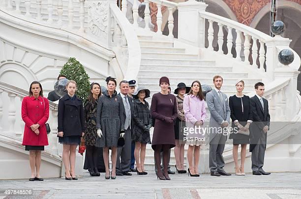 Princess Stephanie of MonacoPrincess Alexandra of Hanover Princess Caroline of Hanover Prince Charles of Bourbon TwoSicilies Princess Charlene of...