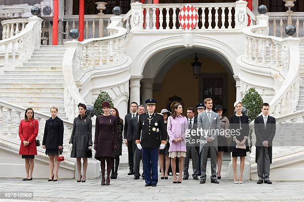 Princess Stephanie of MonacoPrincess Alexandra of Hanover Princess Caroline of HanoverPrincess Charlene of Monaco Prince Albert II of MonacoCharlotte...
