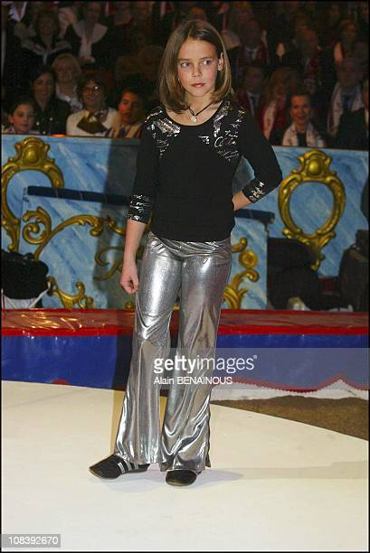 Princess Stephanie of Monaco's daughter Pauline In Monaco on January 20 2004