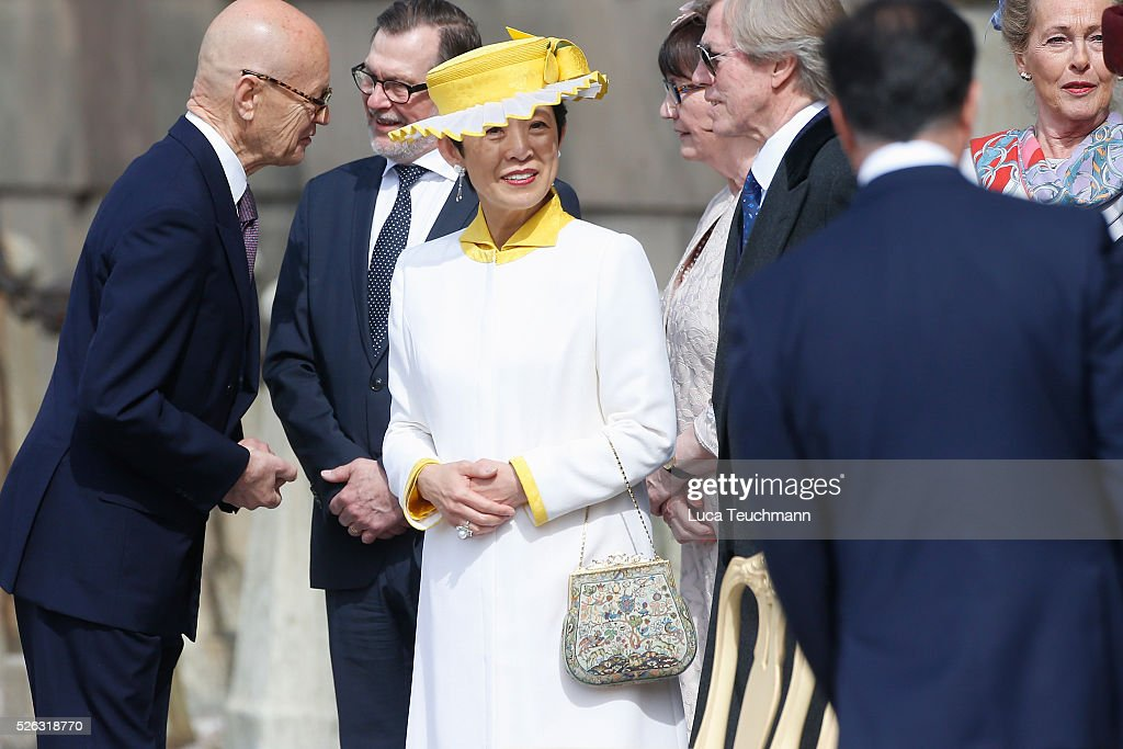 Princess Takamado is seen at the celebrations of the Swedish Armed Forces for the 70th birthday of King Carl Gustaf of Sweden on April 30, 2016 in Stockholm, Sweden.