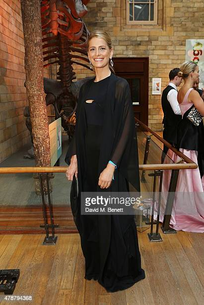Princess Tatiana of Greece and Denmark at the inaugural Walkabout Foundation gala drinks by Boujis London at Natural History Museum on June 27 2015...