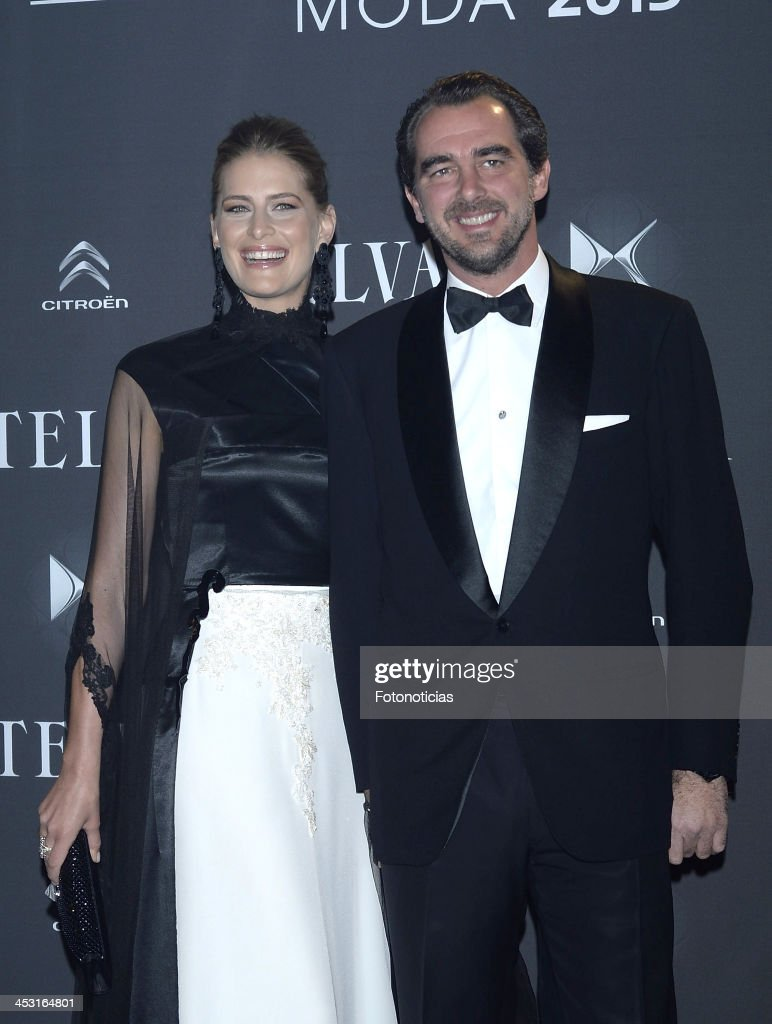 Princess Tatiana of Greece and Prince Nicolas of Greece attend 2013 Telva Fashion Awards at the Palacio de Cibeles on December 2, 2013 in Madrid, Spain.