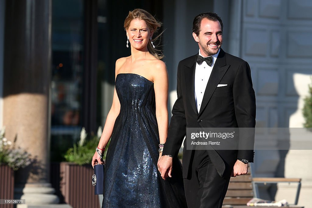 King Carl XVI Gustaf & Queen Silvia Of Sweden Host A Private Dinner Ahead Of The Wedding Of Princess Madeleine & Christopher O'Neill - Outside Arrivals