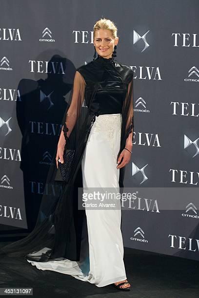 Princess Tatiana of Greece attends the Telva Magazine Fashion Awards 2013 at the Palacio de Cibeles on December 2 2013 in Madrid Spain