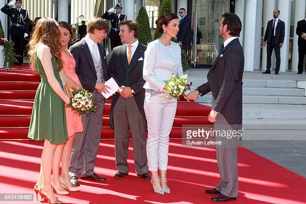 Princess Tessy of Luxembourg Princess Alexandra of Luxembourg Prince Louis of Luxembourg Prince Sebastien Princess Claire Prince Felix of Luxembourg...