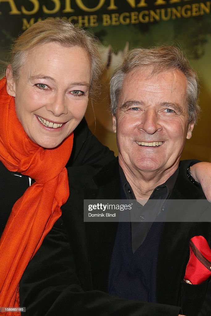 Princess Uschi zu Hohenlohe and Prince Peter zu Hohenlohe attend the show 10 years of Appassionata - Friends Forever on January 4, 2013 in Munich, Germany.