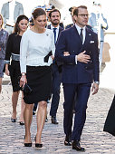 Swedish Royals Attend A Service In Connection with The...